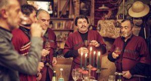 Кавказские тосты на юбилей